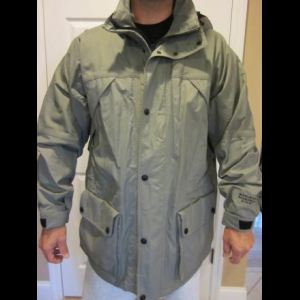 Woolrich Hydromax Parka Mens Large