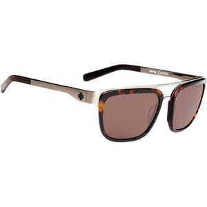 Latigo Happy Lens Sunglasses Dark Tortoise/Happy Bronze, One Size - Ex