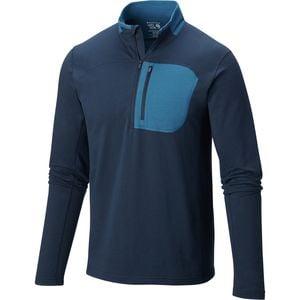 Cragger 1/2-Zip Shirt - Men's Hardwear Navy, L - Excellent