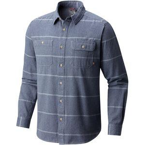 Frequenter Stripe Long-Sleeve Shirt - Men's Zinc, XXL - Good