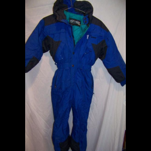 Edelweiss Insulated One Piece Snow Ski Suit, Youth Medium 10-12