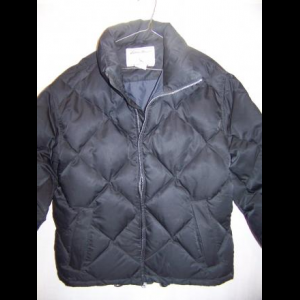 Eddie Bauer Down Puffy Jacket Coat, WM Small