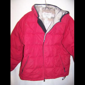 Eddie Bauer Down Puffy Jacket Coat, WM Medium