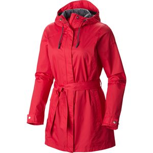 Pardon My Trench Rain Jacket - Women's Ruby Red, XL - Excellent