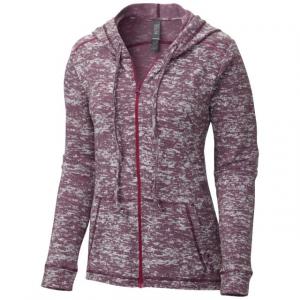 Mountain Hardwear Women's Burned Out(TM) Full Zip Hoody - Medium