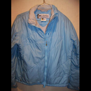 Columbia Interchange Liner Poly Insulated Jacket, Womens Large