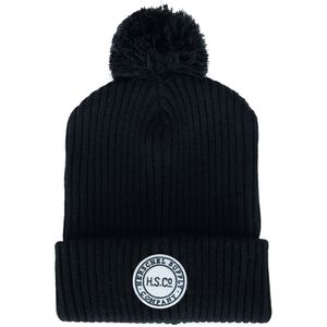 Sepp Pom Beanie Black, One Size - Excellent