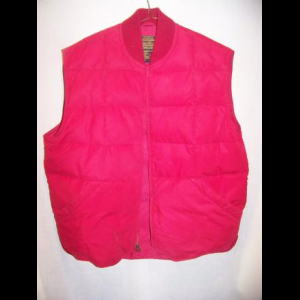 Vintage Eddie Bauer Downlight Down Vest, Large