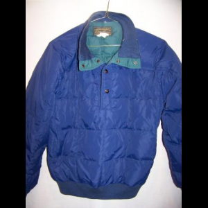 Vintage Eddie Bauer Down Jacket Sweater, Medium