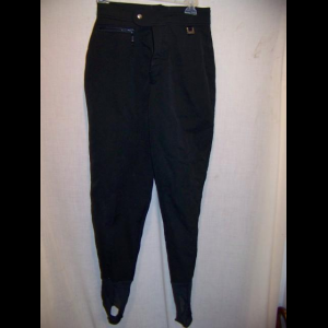 Vintage Eddie Bauer Stirrup Stretch Ski Pants, WM 6 Small