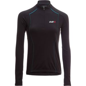 Edge CT Cycling Long-Sleeve Jersey - Women's Black/Blue, S - Excellent