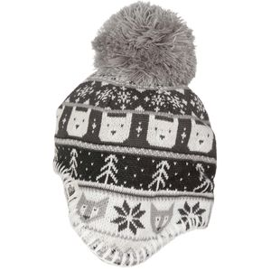 Baby Faroe Beanie - Toddler and Infants' Metallic Silver/Tnf White, XS