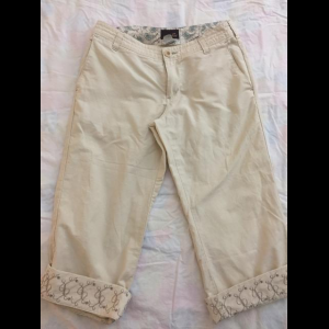 Horny Toad Capri Pant - color cream - Sz. 4