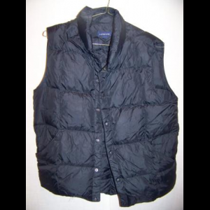 Vintage Eddie Bauer Down Vest, Mens Medium
