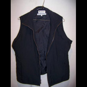 Columbia Poly Insulated Vest, Womens Large