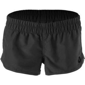 Supersuede Solid Beachrider Board Short - Women's Black, M - Excellent