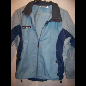 Columbia Lightweight Windbreaker Jacket, WM Medium