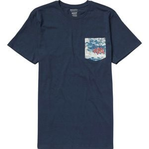 Team Pocket T-Shirt - Short-Sleeve - Men's Navy, L - Excellent
