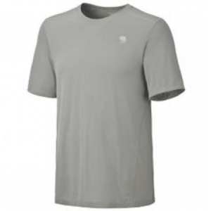 Mountain Hardwear Wicked Lite SS Tee - Men's Small - Excellent - Gray