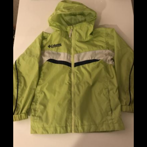Boys Columbia Rain Jacket