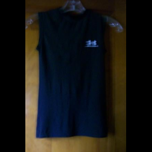 YMD Under Armour Fitted Sleeveless Shirt, Black