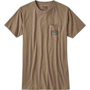 Longhaulers Pocket T-Shirt - Men's Mojave Khaki, XXL - Good