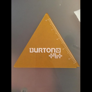NEW Burton Wax Scraper Tool