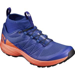 xa enduro trail running shoe - men's surf the web/flame/black, us 13.0- Save 10% Off - XA Enduro Trail Running Shoe - Men's Surf The Web/Flame/Black, US 13.0