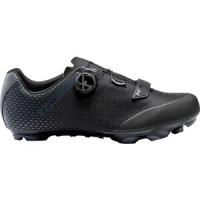 Genetix Plus 2 Wide Mountain Bike Shoe - Men's Black/Anthra, 43.0 - Excellent