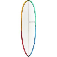 Love Child PU Surfboard Psychedelic Kaleidoscope, 6ft 4in - Excellent