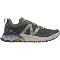 Fresh Foam Hierro v6 Trail Running Shoe - Men's Black Spruce/Timberwolf, 9.5 - Excellent