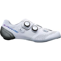 SH-RC9 S-PHYRE Wide Cycling Shoe - Men's White, 46.0 - Good