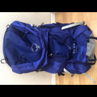 Small Osprey Backpacking weekend pack