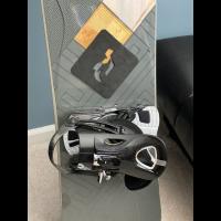 Ride Decade Snowboard with bindings
