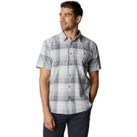 Big Cottonwood Short-Sleeve Shirt - Men's Manta Grey Plaid, XL - Good