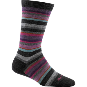 Darn Tough Sassy Stripe Light Crew Sock Womens