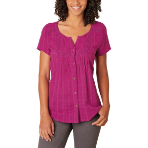 prAna Lucie Shirt Short Sleeve Women's