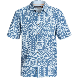 Quiksilver Waterman Bells Beach Shirt Short Sleeve Men's