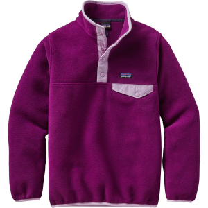 Patagonia Lightweight Synchilla Snap T Pullover Fleece Jacket Girls'