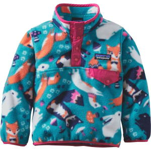 Patagonia Lightweight Synchilla Snap T Fleece Pullover Toddler Girls'