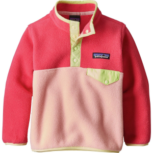 Patagonia Lightweight Synchilla Snap T Fleece Pullover Infant Girls