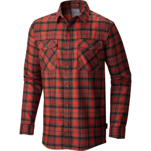 Mountain Hardwear Trekkin Flannel Shirt Long Sleeve Men's