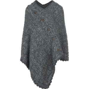 Laundromat Veronique Poncho Sweater Womens
