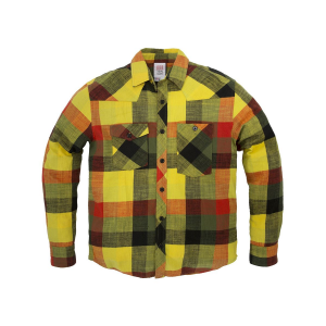 Topo Designs Plaid Flannel Work Shirt Long Sleeve Men's