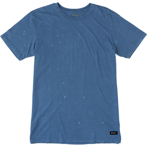 RVCA Label Mineral Wash T Shirt Short Sleeve Men's