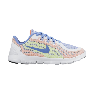 Nike Free 5 Running Shoe Little Girls'