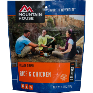 Image of Mountain House Rice and Chicken - 3-Serving Entree