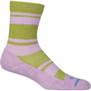 FITS Light Striped Hiker Crew Socks