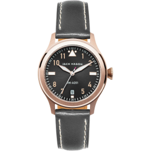Jack Mason A201 Aviation Collection Leather Watch Women's