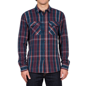 Volcom Carter Long Sleeve Flannel Shirt Men's